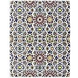 Marwa - Piastrelle Marocchine, 25x50 cm mattonelle in ceramica per bagno e cucina, 1 MQ   Stile: marocchino, zellige, arabo, rustical, mosaico arabo rustico