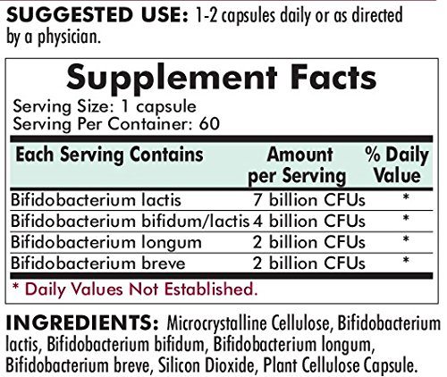 Kirkman Bifido Complex Advanced Formula – Hypoallergenic – 60 capsules