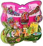 Dracco M770041 - Spielset Mutter und 3 Babies Filly Butterfly