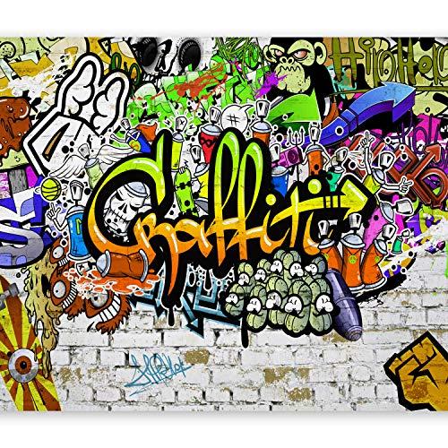 murando Papier peint intissé 400x280 cm Décoration Murale XXL Poster Tableaux Muraux Tapisserie Photo Trompe l'oeil Graffiti f-A-0348-a-d