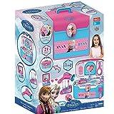 Frozen Beauty Case Vanity Salone di Bellezza Portatile con 21 Accessori Bildo Toys Frozen