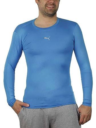 PUMA PB Core Long Sleeve Herren T Shirt blau