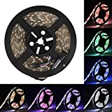 LED Streifen Supernight SMD 5050 LED Strip RGBW Lichterkette (RGB+Weiß) Wasserdicht IP65 16.4ft 5M 300LEDs LED Band Beleuchtung Band-Lampe [ONLY One Strip]
