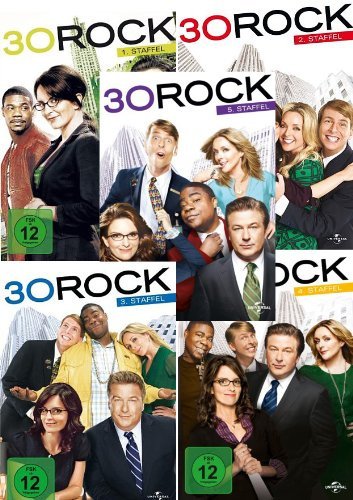 30 Rock Staffel 4 (3 DVDs)