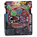 #8: Famous Quality Beyblade Toy Set with Ripchord Launcher (4 Blade, Beyblade)