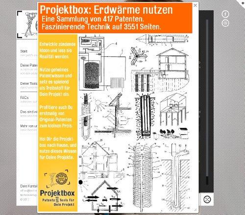 Erdwärme nutzen: Deine Projektbox inkl. 417 Original-Patenten bringt Dich mit Spaß hinter die Geheimnisse der Technik! -