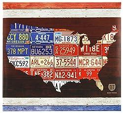 MBI American Lizenz Plate Post Bound Scrapbook 12x 12Zoll