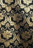 Chroma Tapete in schwarz, gold