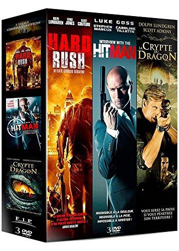 Coffret action : hard rush ; interview with a hitman ; la crypte du dragon [FR Import] Preisvergleich