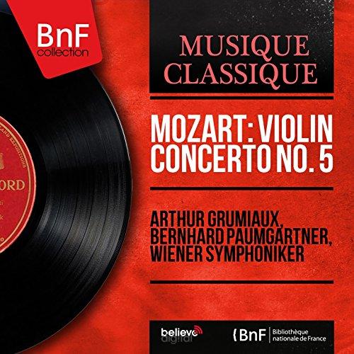 Violin Concerto No. 5 in A Major, K. 219: III. Tempo di menuetto