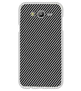 ifasho Design lines pattern Back Case Cover for Samsung J7