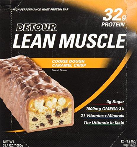 forward-foods-detour-lean-muscle-protine-whey-barresres-beurre-de-cacahte-croquan-12-barres-caramel
