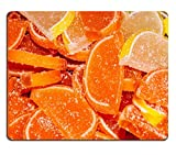 MSD Natural Rubber Gaming Mousepad IMAGE ID 28608680 Orange and lemon slices Marmalade is a kind of three layered jelly Marmalade