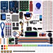 Set / Kit für Arduino Kuman RFID Master Kit with Motor Servo , LCD , Various Sensors for Arduino IDE AVR MCU Learner Compatible With UNO R3 Robot K6