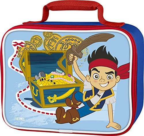 Thermos Soft Lunch Kit, Jake and Neverland (Kit Pirate)