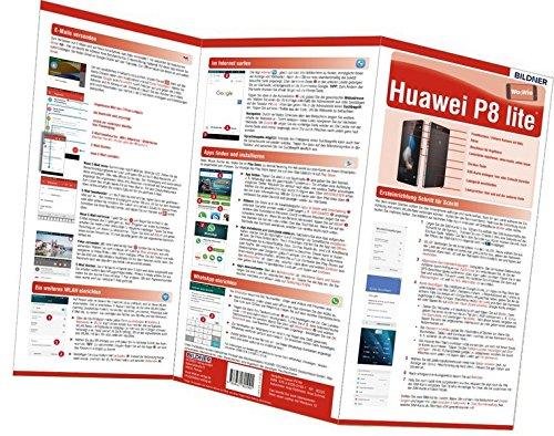 Huawei P8 Lite - der leichte Einstieg: Alles auf einen Blick. Besonders für Senioren geeignet (Wo&Wie)