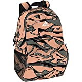 adidas Damen Rucksack Classic Core Graphic, Clear Orange/Grey Three/Black, 14.5 x 31 x 43 cm, CZ5889