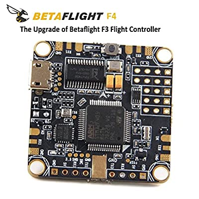 LITEBEE BetaFlight F4 Flight Controller OSD AIO (Integrated PDB Power distribution board, BEC rated to 1.5a 5v, Current sensor, OSD Max Current 145A) for FPV Racing RC Drone by from LITEBEE