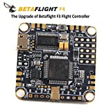 BetaFlight Contrôleur de vol F4 OSD AIO f4 Flight Controller ( Integrated PDB , BEC 1.5a 5v , Current sensor , OSD Max Current 145A ) for FPV Racing RC Drone Quadcopter by LITEBEE