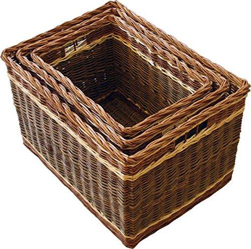 Set of 3 Windemere Log Baskets