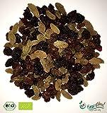Fru'Cha! - BIO Rosinen-Mix-Tricolore / Sultanas, Weinbeeren und grüne Rosinen - 1000g