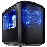 KOLINK Sanctuary Micro-ATX Cube - schwarz Window