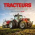 Calendrier mural Tracteurs 2019
