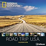 2018 National Geographic Road Trip USA Calendar - teNeues Grid Calendar - Photography Calendar - 30 x 30 cm