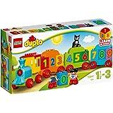 LEGO 10847 DUPLO Getallentrein, Treinspeelgoed met Getallen en Kleurrijke Stenen, Educatief Speelgoed voor Peuters van 1,5 Ja