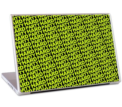 MusicSkins Design-Schutzfolie für MacBook, MacBook Pro, MacBook Air und Notebooks (33 cm / 13 Zoll), Motiv Andrew W.K. Party Hard Neon (Neon Macbook Air 13 Zoll Case)