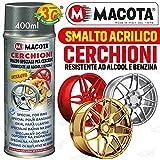 lgvelettronicasrl VERNICE giallo metallizzato RUOTE SPRAY MACOTA SMALTO SPECIALE PER CERCHIONI - cod. 05697