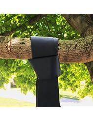 extsud® 2unidades fácil de colgar correa Kit Heavy Duty ganchos Hamacas y correa de árbol Capacidad Max 1000libras con cierre de seguridad Snap Mosquetón y al polvo Funda de transporte Type One