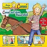 02: Conni auf dem Bauernhof / Conni schläft im Kindergarten / Conni geht zum Zahnarzt / Connis erster Flug