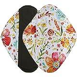 Serviettes hygièniques lavables Covermason Bambou réutilisables lingette lavable menstruel serviette hygiénique de Pad Mama