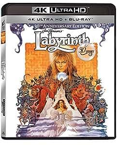 Labyrinth 30th Anniversary (2 Disc 4K Ultra HD and Blu-ray) [2016] [Region Free]
