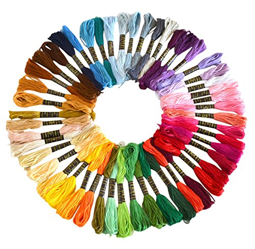 soledi-prime-rainbow-multi-couleur-broderie-floss-point-de-croix-threads-amiti-bracelets-floss-craft
