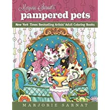 Marjorie Sarnat's Pampered Pets: New York Times Bestselling Artists' Adult Coloring Books