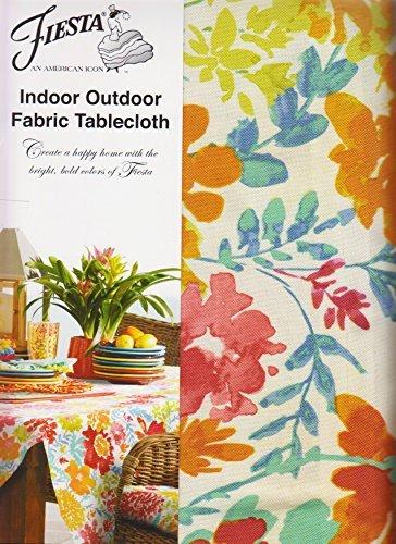 Fiesta Garden Floral Regenschirm Tischdecke Reißverschluss Outdoor-Stoff 70 Round Umbrella Tan, Green, Blue, Red, Orange, Pink