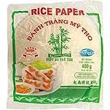 Bamboo Tree Carta di Riso (22 cm) da Utilizzare Negli Involtini Primavera e Fácile da Preparare. Qualità Premium, X 400…