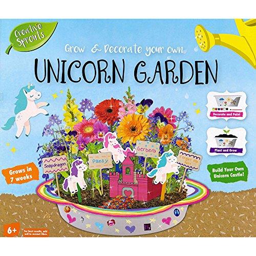 Kreative Sprossen wachsen Ihren eigenen Unicorn Garden