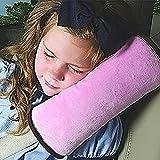 Demarkt Auto Almohada del cinturón de seguridad del coche Proteja hombro almohada cojín amortiguador del vehículo Ajuste del cinturón de seguridad par