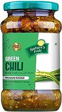 Nature's Pride Punjabi Green Chilli Pickle (400g)