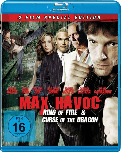 Curse of the Dragon / Ring of Fire ( Max Havoc: Curse of the Dragon / Max Havoc: Ring of Fire ) (Blu-Ray)
