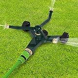 Rotationssprinkler Rasensprenger Sprinkler mit 3 Düsen