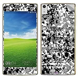 GsmKart GE5.5 Mobile Skin for Gionee Elife 5.5 (Black, Elife 5.5-413)
