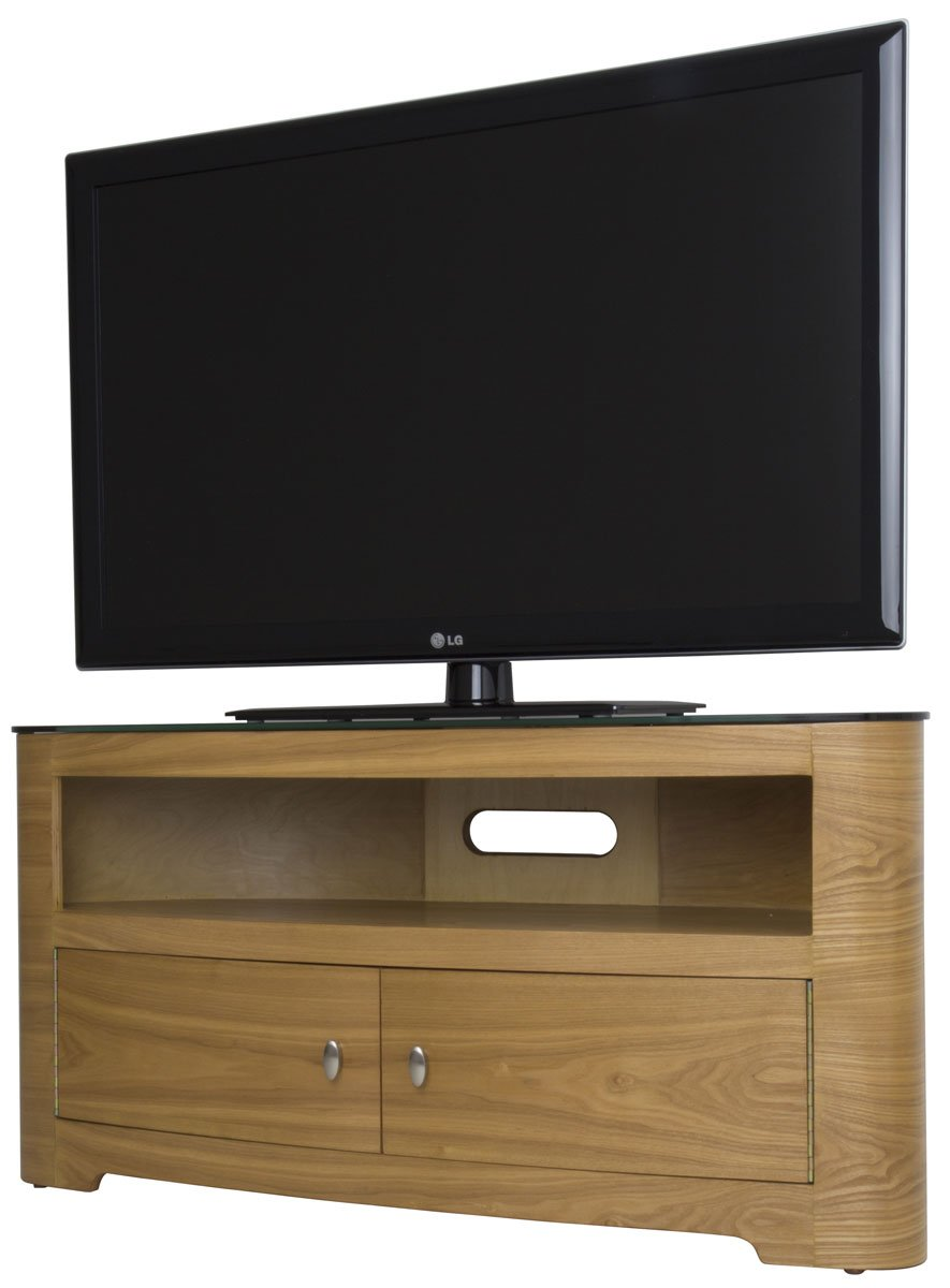 avf blenheim walnut tv stand for up to 55 inch amazoncouk electronics