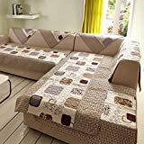 #4: 50x50cm : Sofa Cushion,Kingko® 'Autumn Diction' Style Pattern Sofa Throws Armrest Back Towel Cover Decor Home Gift (50x50cm)