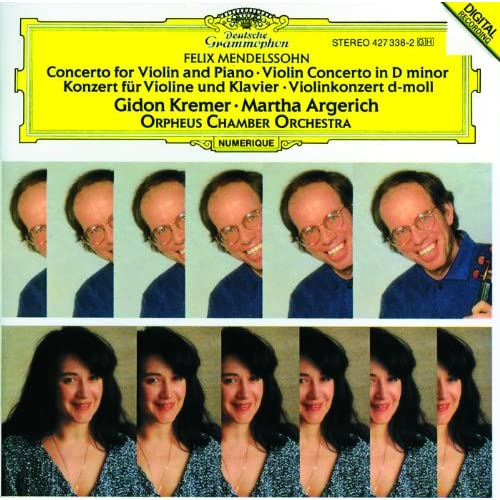 Mendelssohn: Concerto for Violin, Piano and Strings; Violin Concerto