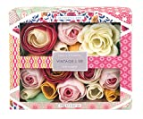Vintage & Co Fabric and Flowers Soap Flowers