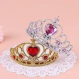 La fecha de nacimiento y la corona de la cabeza del bebé niños coreanos hairbands abrazaderas accesorios de cabello hairbands princesa encantadora ,7*16cm,1